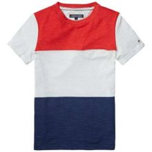 Tommy Hilfiger Boys Block Stripe T-shirt