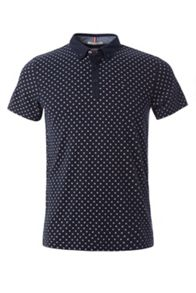 Tommy Hilfiger Allover printed Polo top
