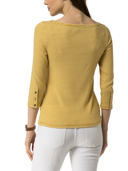 Tommy Hilfiger Finley Rib Boat Neck Top