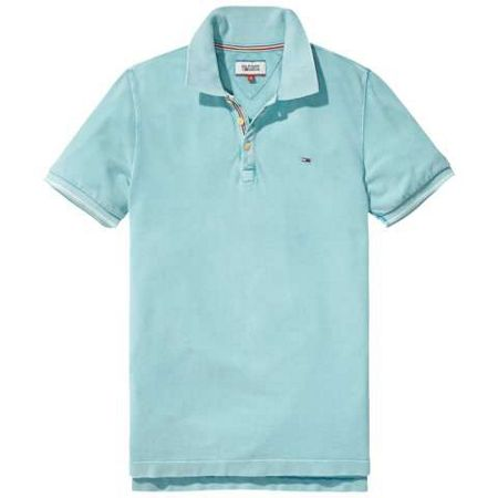 Tommy Hilfiger Garment Dyed Polo Top