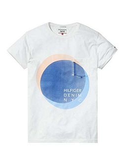 Cotton Garmet Dyed T-shirt