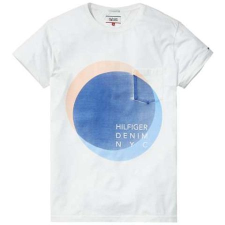 Tommy Hilfiger Cotton Garmet Dyed T-shirt