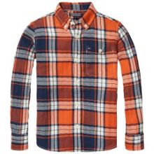 Tommy Hilfiger Boys Herringbone Check Shirt