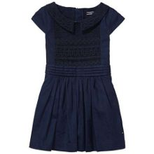 Tommy Hilfiger Girls Lace Mix Dress