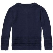 Tommy Hilfiger Girls Structure Star Mini Cardigan