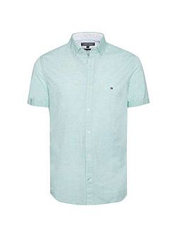 Slub short sleeve shirt