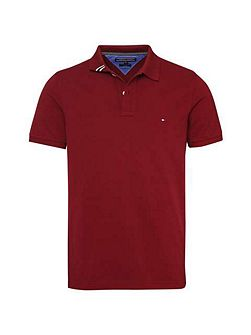 Slim Fit Short Sleeve Polo Top