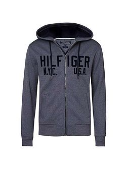 Sander Zip Through Hoody