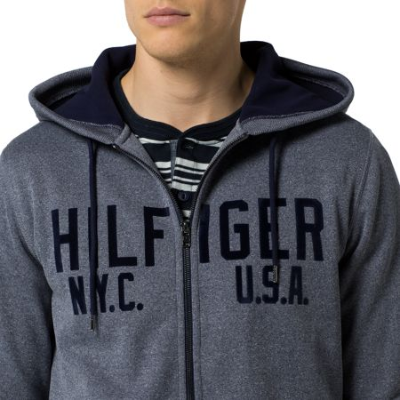 Tommy Hilfiger Sander Zip Through Hoody