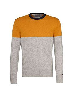 Donegal Colour Block Jumper