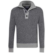 Tommy Hilfiger Tylor Button Mock Sweater