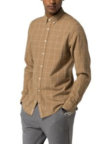 Tommy Hilfiger WindowPane Flannel Shirt