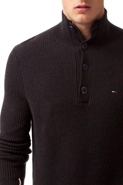 Tommy Hilfiger THDM Mock Neck Sweater