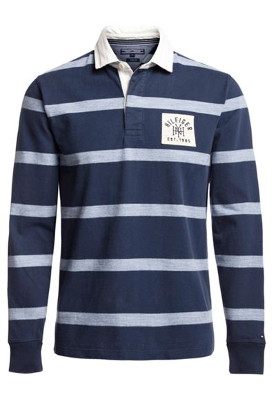 Tommy Hilfiger Dee Stripe Rugby Top