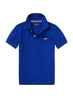 Big Flag Short Sleeve Polo Top