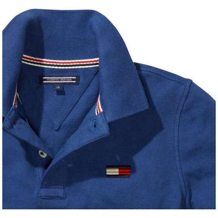 Tommy Hilfiger Big Flag Long Sleeve Polo Top