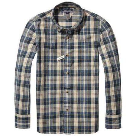 Tommy Hilfiger Brushed Twill Check Shirt