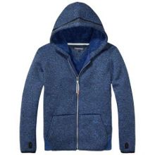 Tommy Hilfiger Bonded Zip Through Hoody
