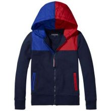 Tommy Hilfiger Colourblocl Zip Through Hoody