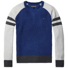 Tommy Hilfiger Structured Colourblock Sweater