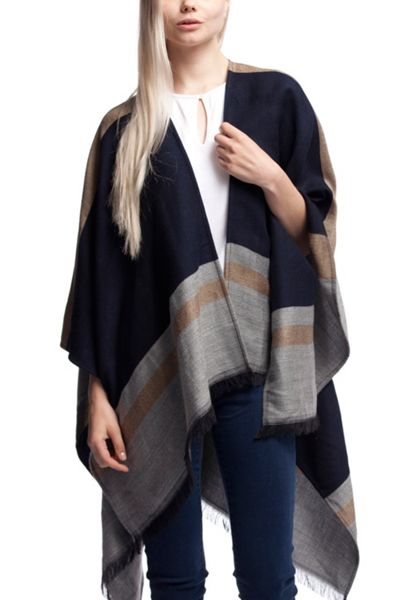 Tommy Hilfiger Classic Tommy Stripe Cape