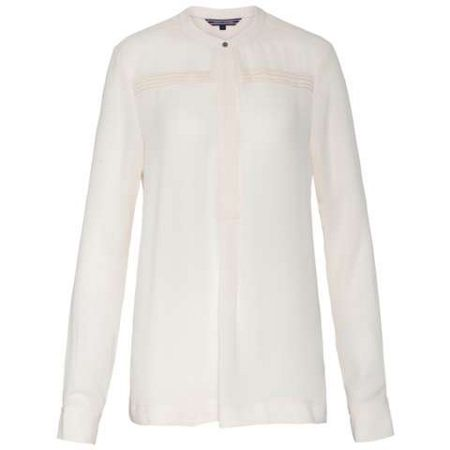 Tommy Hilfiger Kender Pleated Blouse