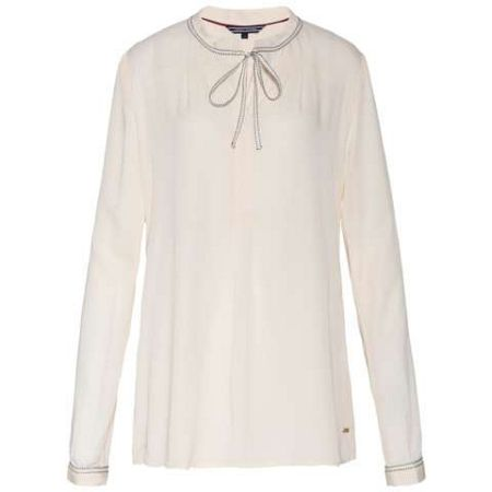 Tommy Hilfiger Ricci Bow Tie Blouse