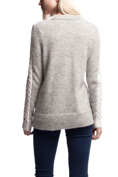Tommy Hilfiger Bedelia Cable Colour Block Sweater