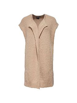 Porti Sleeveless Long Cardigan