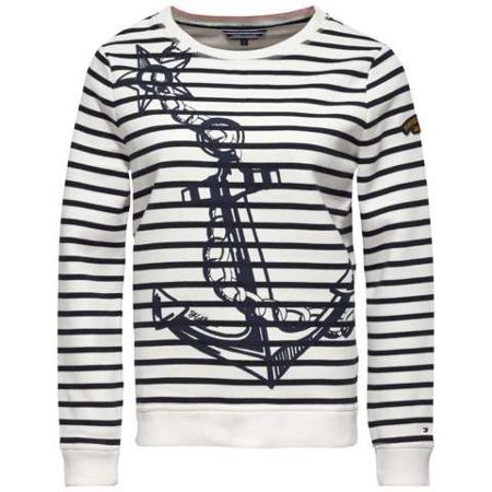 Tommy Hilfiger Olympia Anchor Print Sweater