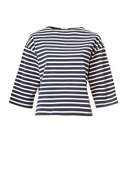 THDW 3/4 Sleeve Stripe Top