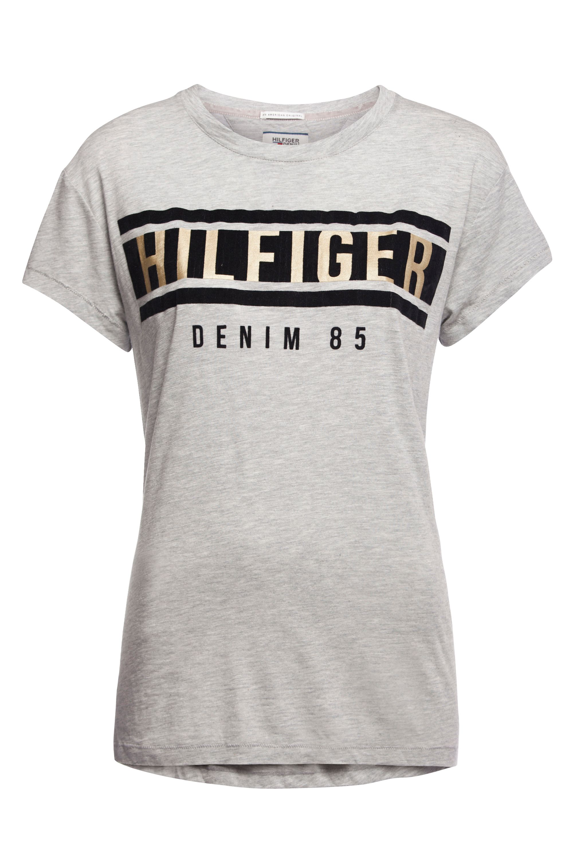 tommy hilfiger logo t shirt house of fraser. Black Bedroom Furniture Sets. Home Design Ideas