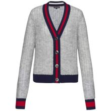 Tommy Hilfiger Jala Tipping Short Cardigan