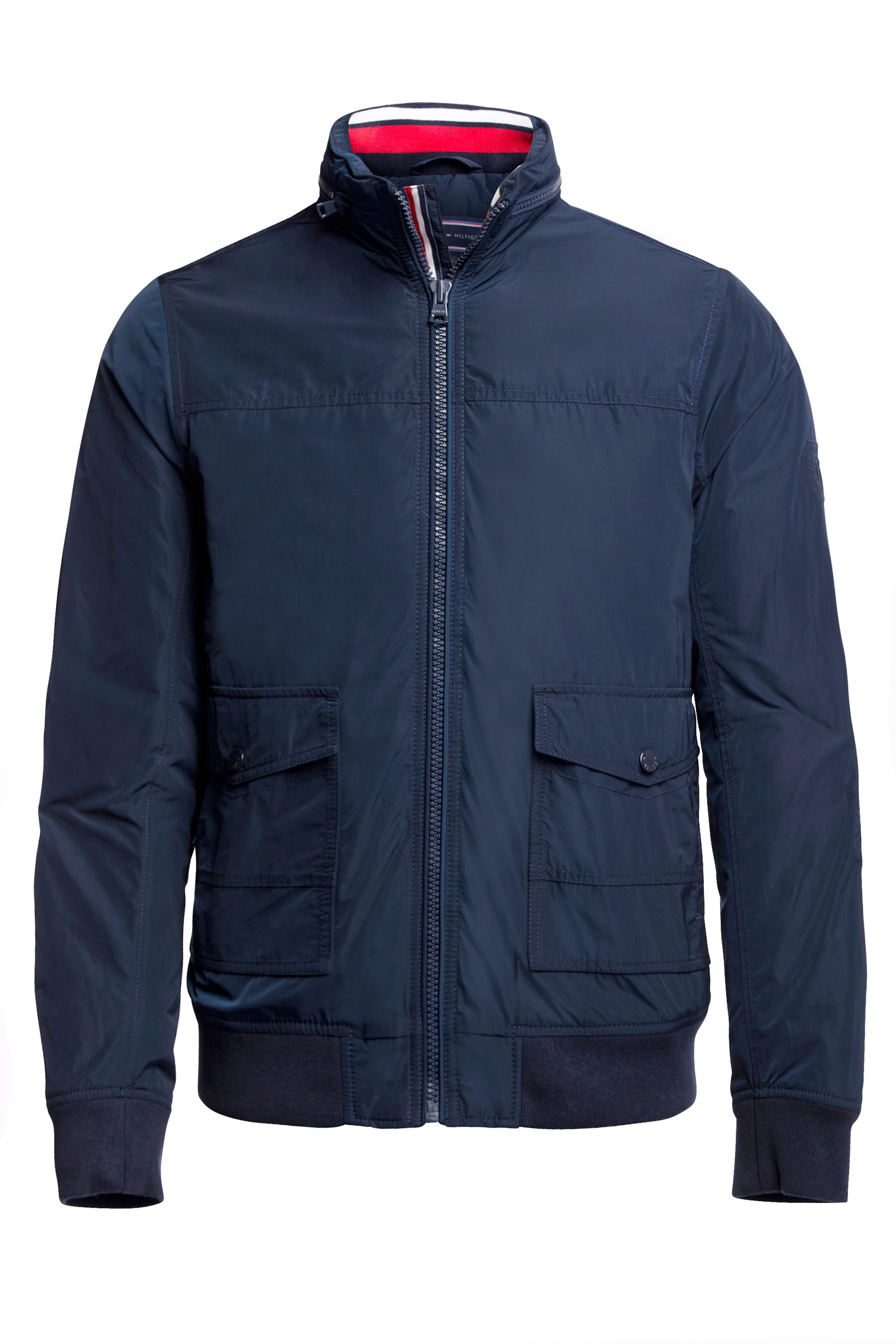 Mens Tommy Hilfiger New Carson Bomber Jacket Navy