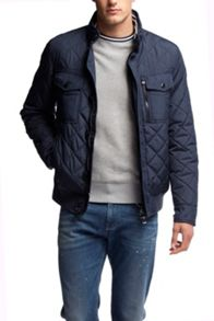Tommy Hilfiger Diamond Quilted Bob Bomber Jacket