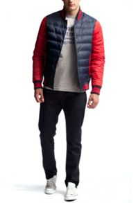 Tommy Hilfiger Baseball Down Bomber Jacket
