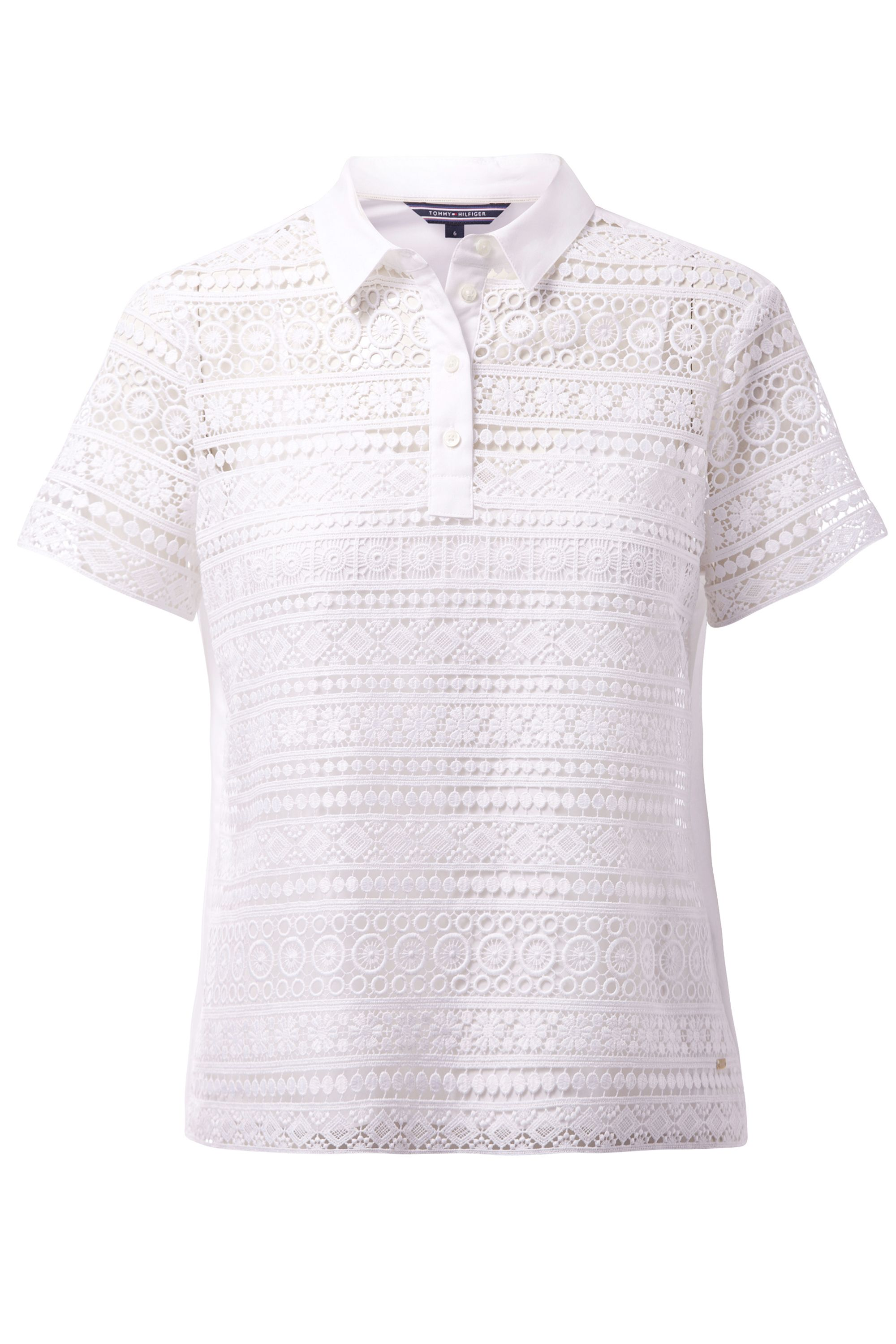 Tommy Hilfiger Aspen Polo Top, White