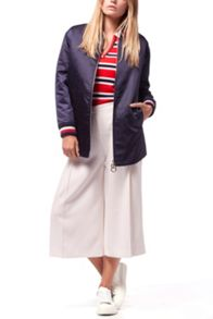 Tommy Hilfiger Bridget Long Varsity Jacket
