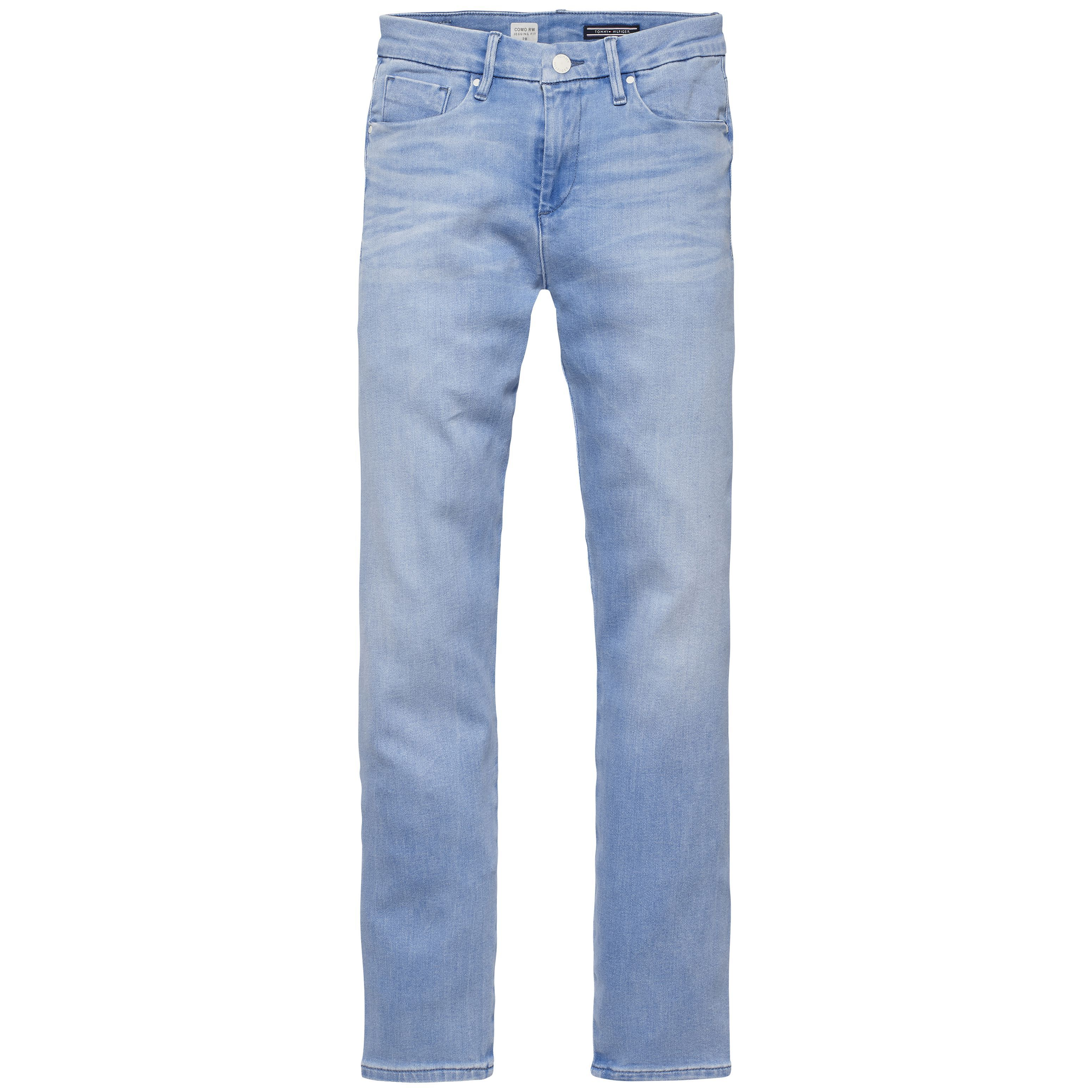 Tommy Hilfiger Como Seamless Cropped Jeans Blue