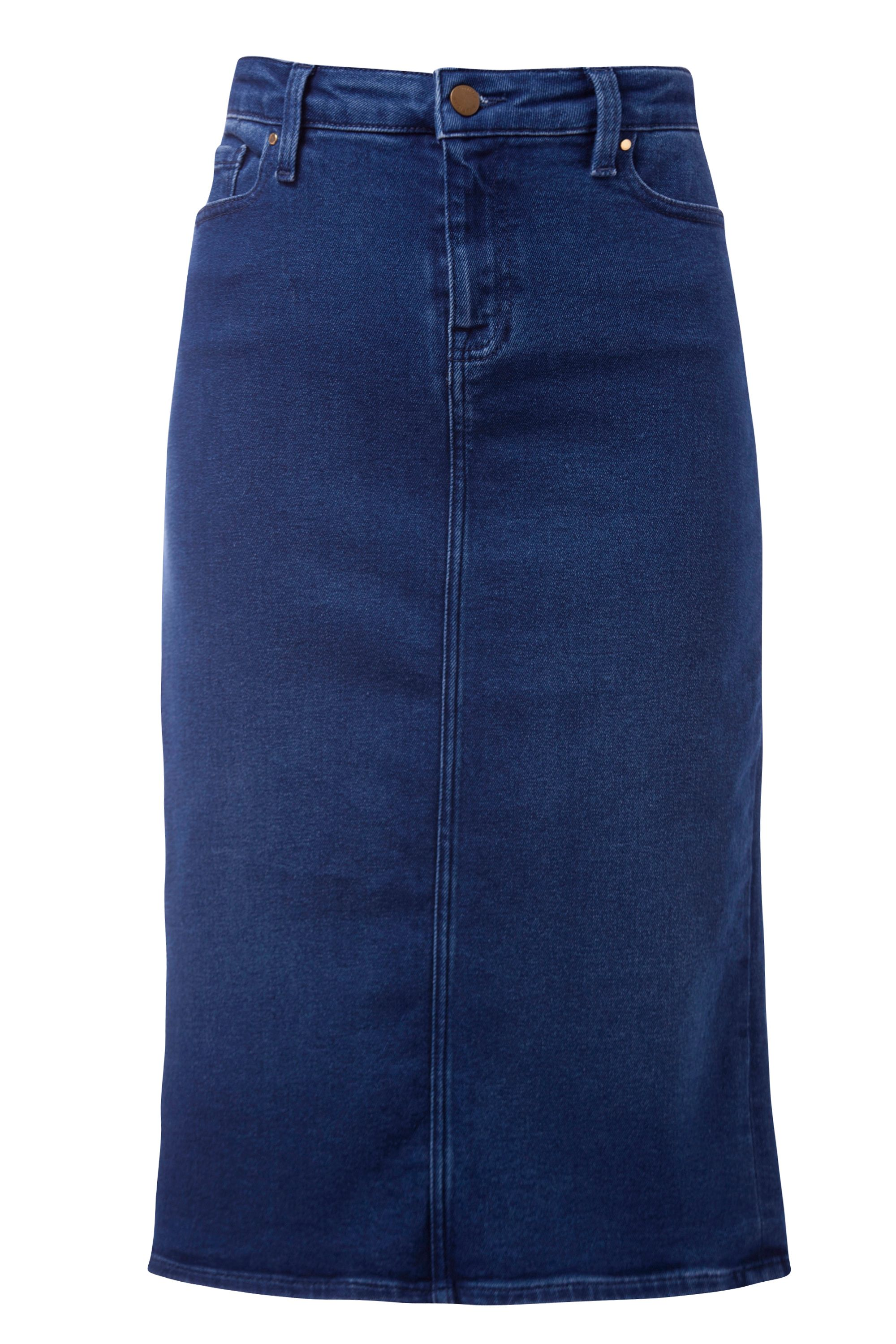 Tommy Hilfiger Rome Long Skirt Cynthia, Blue