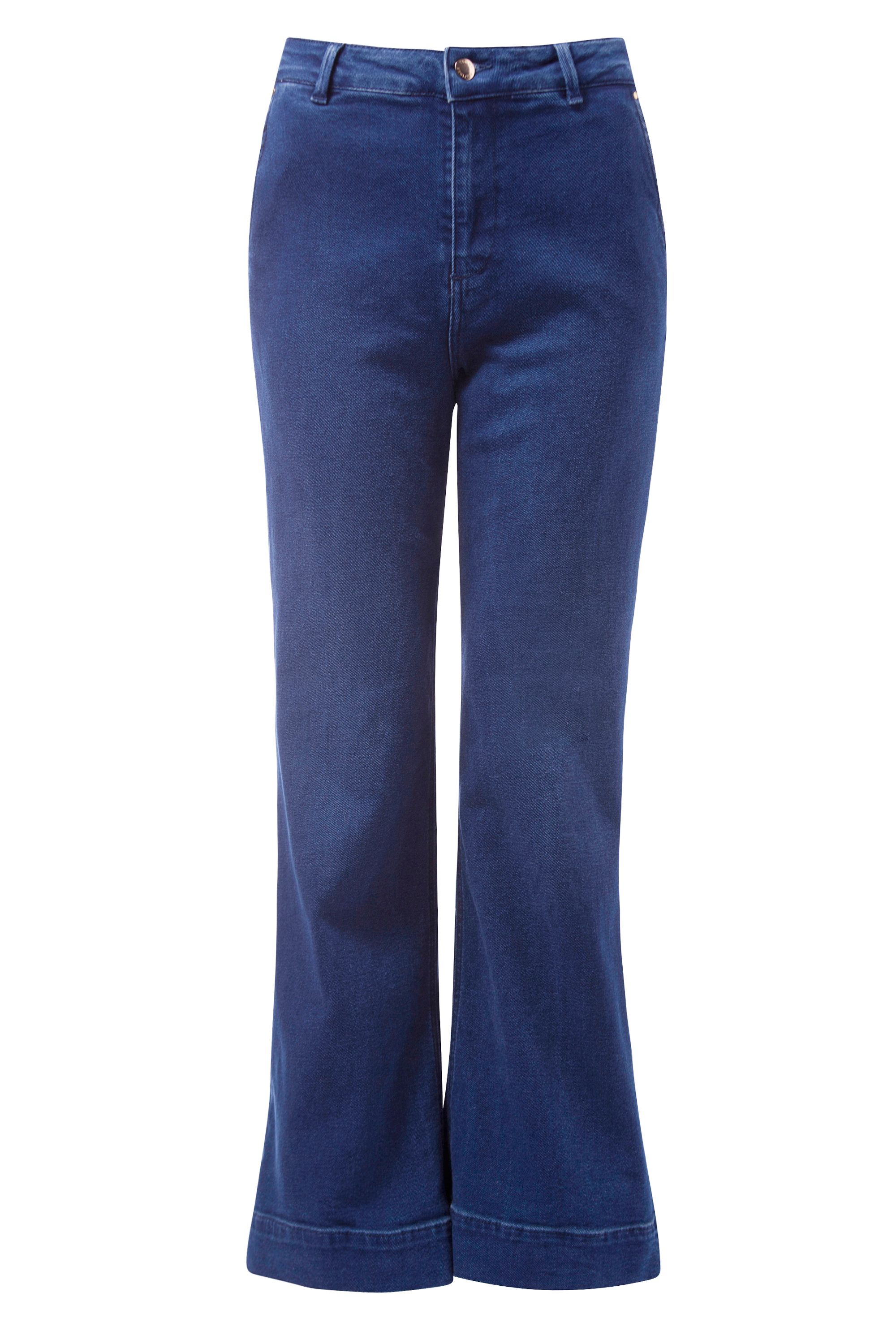 Tommy Hilfiger Tailored Wide Leg Ankle Cynthia Culottes, Blue