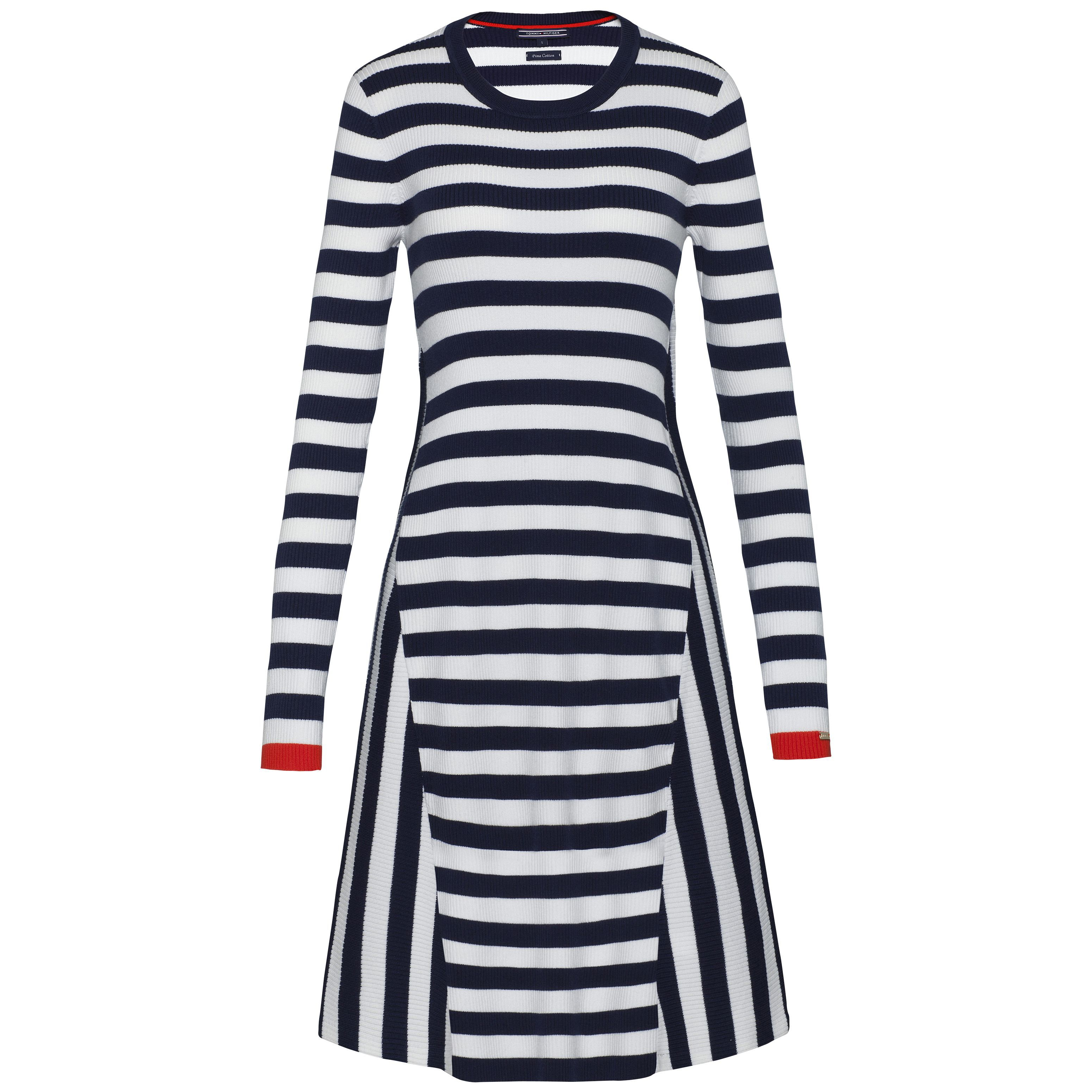 Tommy Hilfiger Etty Stripe Dress, White