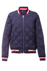 Tommy Hilfiger Blake Stretch Down Bomber Jacket