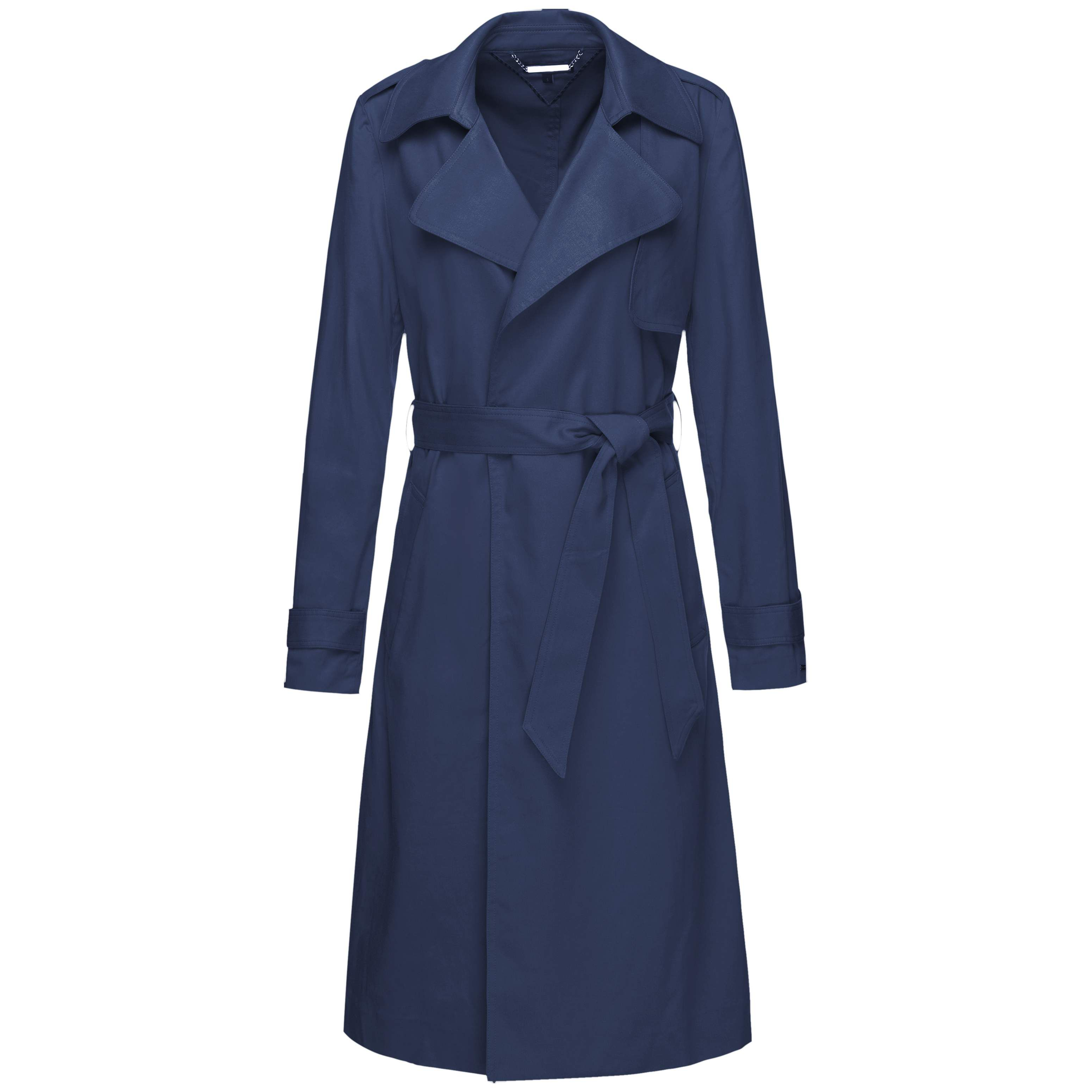 Tommy Hilfiger Beatha Trench Coat, Blue