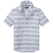 Tommy Hilfiger Boys Irregular Stripe Shirt