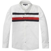 Tommy Hilfiger Boys Printed Global Stripe Shirt