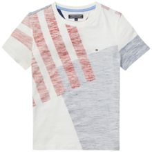 Tommy Hilfiger Boys Inside Panel Print T-shirt