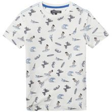 Tommy Hilfiger Boys All Over Surf Print T-shirt