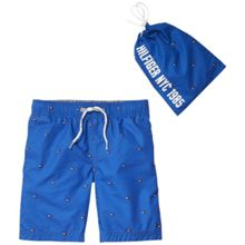 Tommy Hilfiger Boys Ame Printed Flag Swimshort