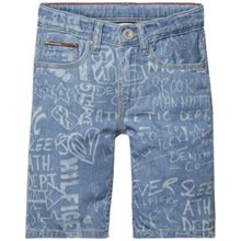 Tommy Hilfiger Boys Clyde Print Denim Shorts